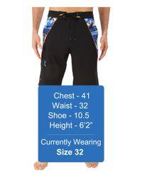Rainforest - Blue Avatar Splice Boardshorts In Stretch Oxford for Men - Lyst