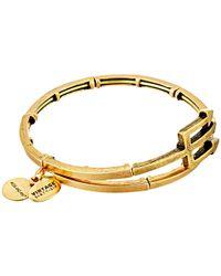 ALEX AND ANI | Metallic Trident Metal Wrap Bracelet | Lyst