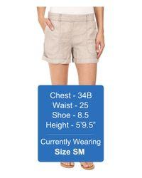 Three Dots - Multicolor Joyce Cuffed Shorts - Lyst
