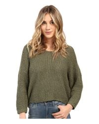 Billabong | Green Way Back When Sweater | Lyst