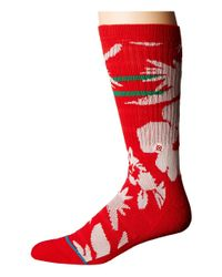 Stance - Red Maui St Nick for Men - Lyst
