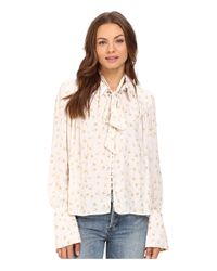 Free People | Multicolor Modern Muse Top | Lyst