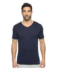 Michael Kors | Blue Essentials V-neck T-shirt 3-pack for Men | Lyst