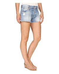 Joe's Jeans - Green A-line Shorts In Tayla - Lyst