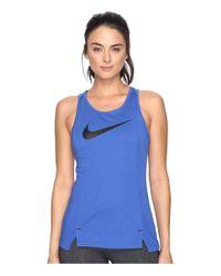 Nike | Blue Dry Elite Basketball Tank | Lyst