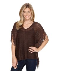 Ariat | Brown Calypso Poncho | Lyst