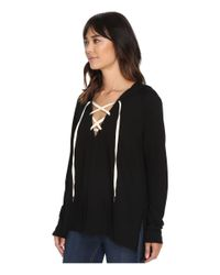 Project Social T - Black Bali Lace-up - Lyst