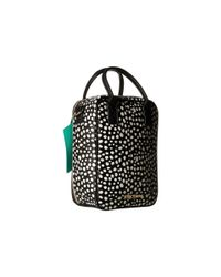 Betsey Johnson Brown Bow Lunch Tote