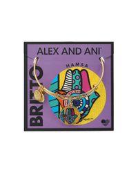ALEX AND ANI   Metallic Romero Britto Art Infusion Hamsa   Lyst