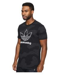 Adidas Originals - Black Clima 3.0 Word Camo Tee for Men - Lyst