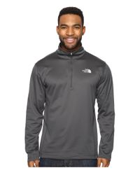 The North Face | Gray Tech Glacier 1/4 Zip for Men | Lyst