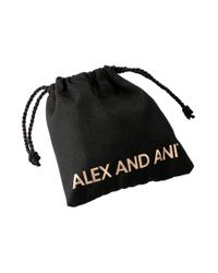 ALEX AND ANI - Metallic Purple Precious Threads Bracelet - Lyst