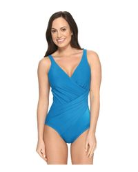 Miraclesuit | Blue Must Haves Oceanus One-piece | Lyst