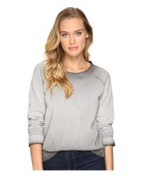 Billabong | Gray Its Alright Pullover Crew | Lyst