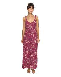 Billabong | Purple First Dreamer Maxi Dress | Lyst