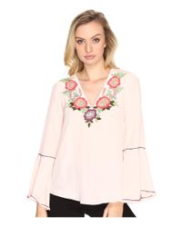 Nanette Lepore | Pink Toscana Top | Lyst