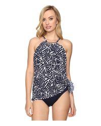 Magicsuitr | Blue Tiki Parker Swimdress One-piece | Lyst