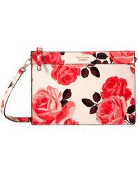 Kate Spade | Pink Cameron Street Roses Clarise | Lyst