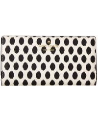 kate spade new york | Black Harding Street Ikat Dot Stacy | Lyst