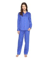 Lauren by Ralph Lauren | Blue Pyjama Set | Lyst