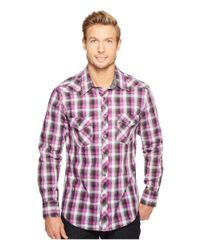 Rock And Roll Cowboy - Gray Long Sleeve Snap B2s1252 for Men - Lyst