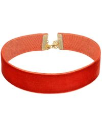 Vanessa Mooney - Multicolor The Marla Choker Necklace - Lyst