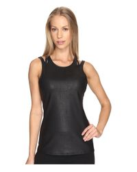Alo Yoga | Black Absolute Tank Top | Lyst