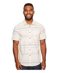 Billabong - White Flat Lines Woven Top for Men - Lyst