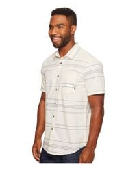 Billabong - White Flat Lines Woven Top for Men - Lyst