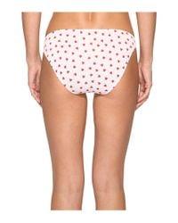 Only Hearts   White Heritage Heart Supima Cotton Bikini   Lyst