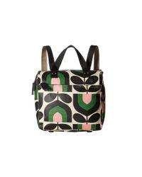 Orla Kiely | Multicolor Matt Laminated Stripe Tulip Print Small Backpack | Lyst