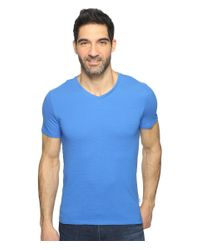 Calvin Klein | Blue S&z V-neck Tee for Men | Lyst