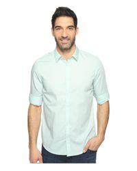 Calvin Klein | Blue Chambray Button Down for Men | Lyst