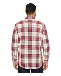 Pendleton - Red Beach Shack Twill 100% Soft Cotton for Men - Lyst