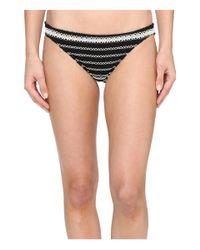 Polo Ralph Lauren - Black Desert Crochet Stripe Taylor Hipster - Lyst