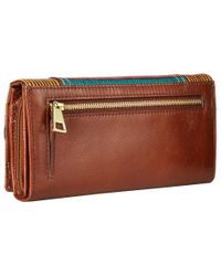 Fossil | Multicolor Ellis Large International Clutch | Lyst