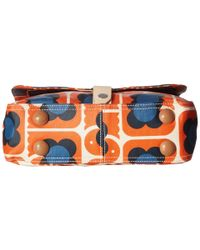 Orla Kiely - Multicolor Love Birds Print Small Satchel - Lyst