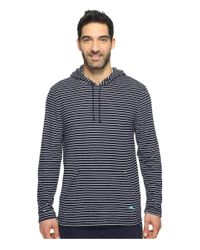 Tommy Bahama   Blue Knit Terry Long Sleeve Hoodie for Men   Lyst