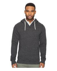 Scotch & Soda - Gray Home Alone Hoodie With Button Closure for Men - Lyst