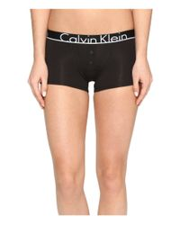 Calvin Klein | Black Ck Id Cotton Large Waist Band Trunk | Lyst