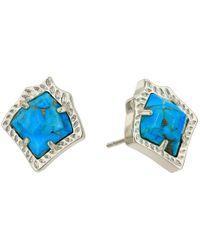 Kendra Scott - Multicolor Kirstie Stud Earrings - Lyst