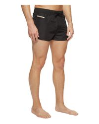 DIESEL - Black Waykeeki Short Shorts Naol for Men - Lyst