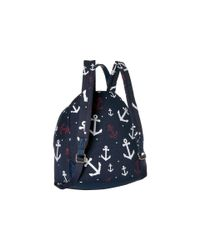 Tommy Hilfiger - Blue Tommy Falling Anchor Backpack - Lyst