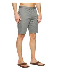 Reef - Gray Moving On 3 Shorts for Men - Lyst