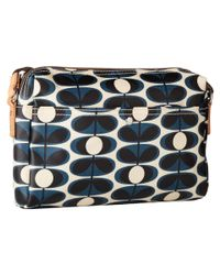 Orla Kiely - Blue Small Crossbody (indigo) Cross Body Handbags - Lyst