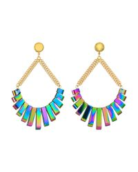 Vanessa Mooney   Multicolor The Talulah Earrings   Lyst