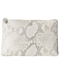 Lodis - Metallic Sweet Honey Rfid Flat Pouch - Lyst