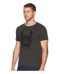 John Varvatos - Black Applique Skull Graphic Tee Kg3861u2b (coal) Men's T Shirt for Men - Lyst