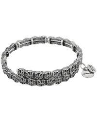 ALEX AND ANI - Metallic Path Of Life Wrap Bracelet - Lyst