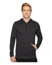 PUMA Gray Vent Lightweight Hoodie for men